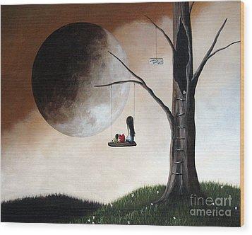 No Place Like Home By Shawna Erback Wood Print by Shawna Erback