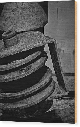 No Spin Wood Print by Odd Jeppesen