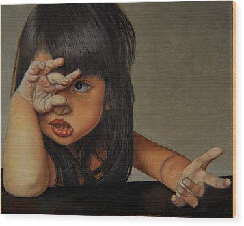 No Wood Print by Thu Nguyen