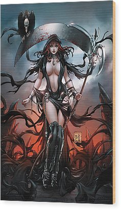 No Tommorow 01a Wood Print by Zenescope Entertainment