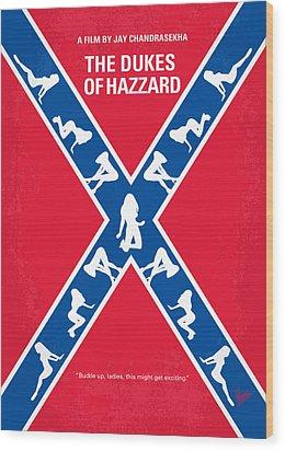 No108 My The Dukes Of Hazzard Movie Poster Wood Print by Chungkong Art