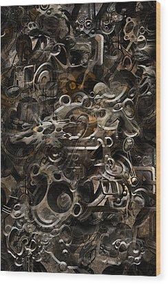 No.16 Wood Print by Andy Walsh