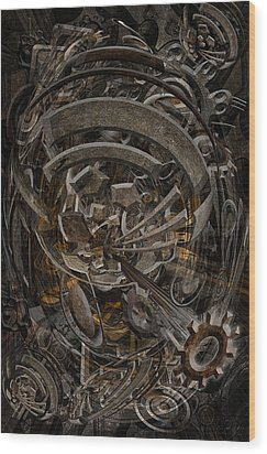 No.17 Wood Print by Andy Walsh