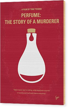 No194 My Perfume The Story Of A Murderer Minimal Movie Poster Wood Print by Chungkong Art