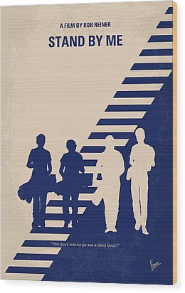 No429 My Stand By Me Minimal Movie Poster Wood Print by Chungkong Art