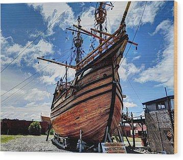 Noa Victoria Wood Print