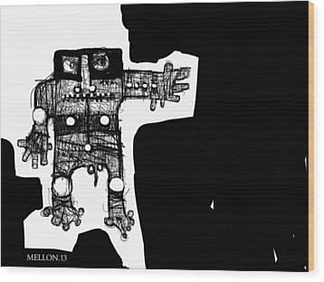 Noctis No. 1  Wood Print by Mark M  Mellon