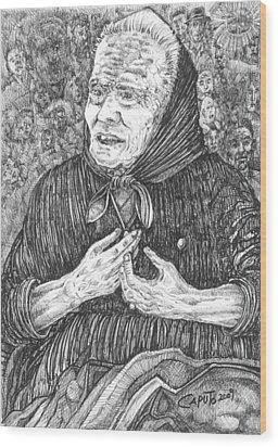 Forenza Vita Nonna Filomena - Famiglia Mia Wood Print
