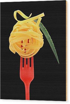 Noodles Wood Print