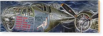 North American B-25 Mitchell Bomber  Wood Print by Lee Dos Santos