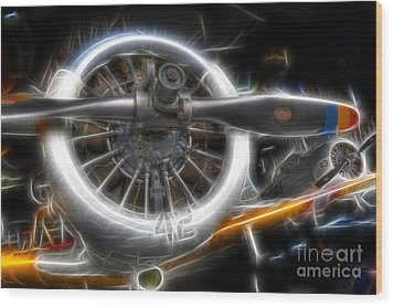 North American T-6 Texan Warbirds Wood Print by Lee Dos Santos