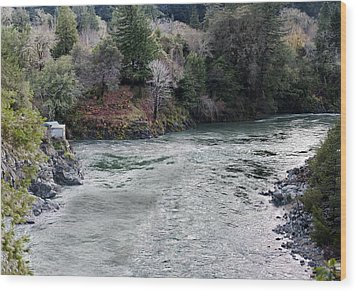 North And Middle Fork Of Smith River 2 Wood Print