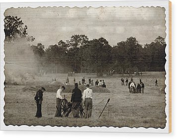 North And South Wood Print by Beverly Stapleton