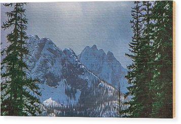 North Cascades Inspiration Wood Print by Omaste Witkowski