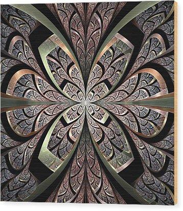 North Gates Wood Print by Anastasiya Malakhova