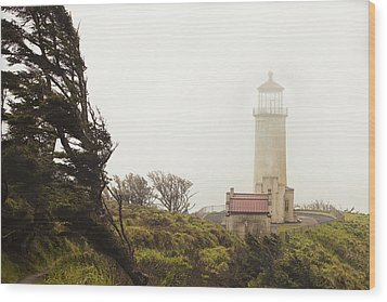 North Head Lighthouse Wood Print by Andrew Soundarajan