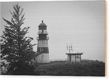 Wood Print featuring the photograph North Head Washington by Erin Kohlenberg