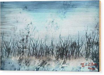 North Winds Wood Print by Thomas OGrady
