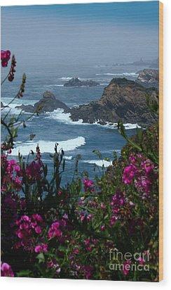 Northern Coast Beauty Wood Print