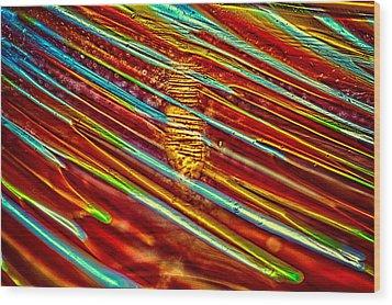 Northern Lights Wood Print by Omaste Witkowski