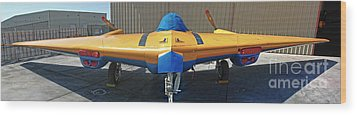 Northrop N9mb Flying Wing Wood Print by Gregory Dyer