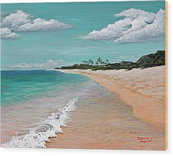 Northshore Oahu  Wood Print