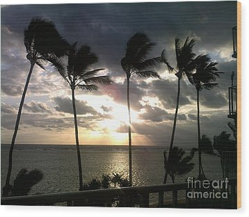 Wood Print featuring the photograph Northshore Sunrise by Brigitte Emme
