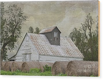 Wood Print featuring the photograph Nortonville Kansas by Liane Wright