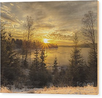 Norway Hedmark Wood Print