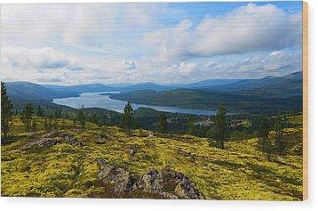 Norwegian Landscape 3 Wood Print