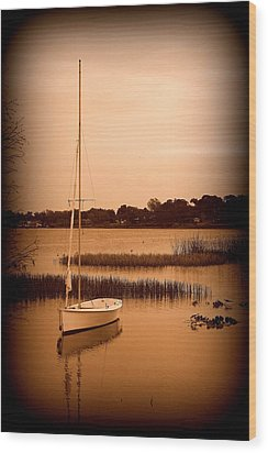 Wood Print featuring the photograph Nostalgic Summer by Laurie Perry