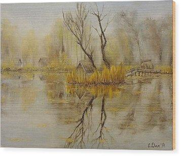 Nostalgic Wood Print by Svetla Dimitrova