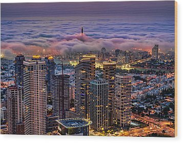 Wood Print featuring the photograph Not Hong Kong by Ron Shoshani