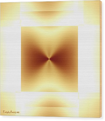 Not Malevich. 2013 80/80 Cm.  Wood Print by Tautvydas Davainis