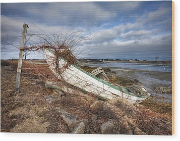 Not Seaworthy Wood Print by Eric Gendron