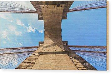 Nothin But Blue Skies Brooklyn Wood Print