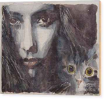 Nothing Compares To You  Wood Print by Paul Lovering