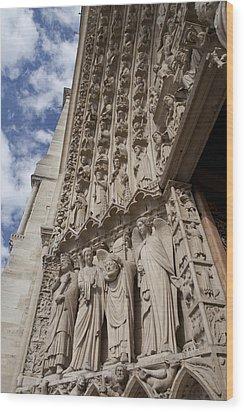 Notre Dame 3 Wood Print by Art Ferrier