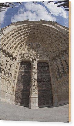 Notre Dame 4 Wood Print by Art Ferrier