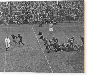Notre Dame Versus Army Game Wood Print by Underwood Archives