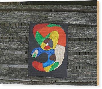Notsofunny Wood Print by David King