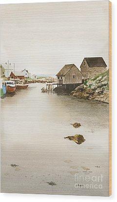 Nova Scotia Wood Print by Monte Toon
