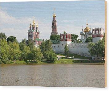 Novodevichy Monastery Wood Print