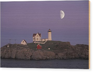 Nubble Light Wood Print by Christian Heeb
