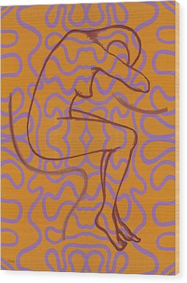 Nude 13 Wood Print by Patrick J Murphy