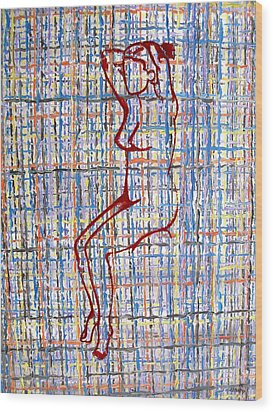 Nude 15 Wood Print by Patrick J Murphy