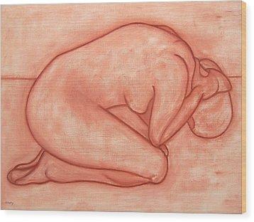 Nude 19 Wood Print by Patrick J Murphy