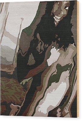 Nude4 Wood Print
