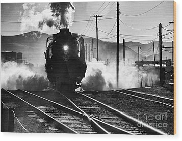 Wood Print featuring the photograph Number 844 Pulling Out by Vinnie Oakes