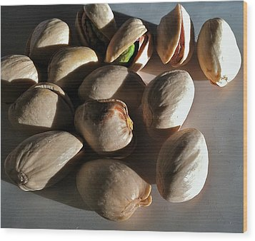 Wood Print featuring the photograph Nuts by Bill Owen
